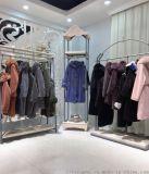 一线品牌时尚高端澳洲羊剪绒大衣走份拿货
