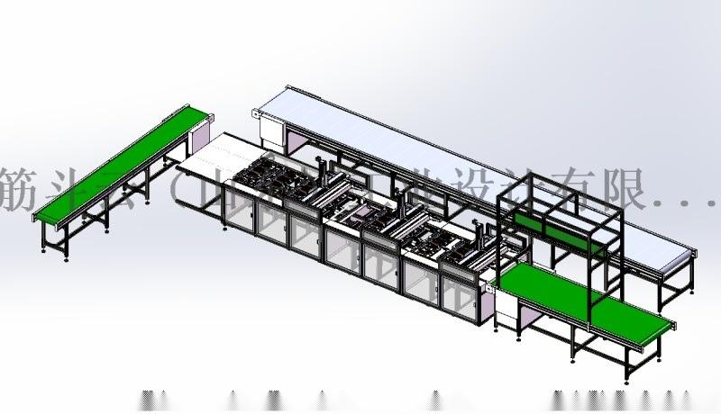 點膠組裝線設計-公司產品案例