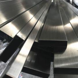 拉丝面201不锈钢矩形管,拉丝面不锈钢方矩管
