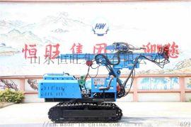 6米液压锤打桩机 360度可旋转液压锤打桩机又加压桩机