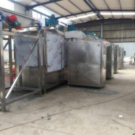 速溶胶化学颗粒烘干机 隧道式干燥机 卧式干燥设备