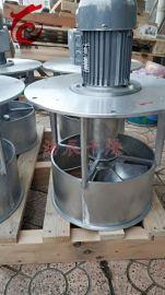 烘箱烘房烤箱防爆轴流风机0.75KW热风循环烘箱  耐高温轴流风机