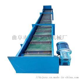 水平式埋刮板输送机 单环链可弯曲刮板输送机78