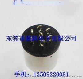 大DIN5PIN**车针,**连接器,全铜镀镍连接器