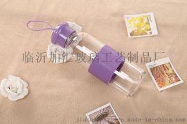 镇江加汇双层玻璃杯厂家广告促销杯定制批发商务水晶口杯印字印LOGO