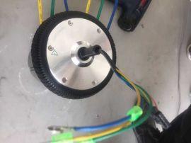 豪得不锈钢户外跑骑机械电机轮胎6.5寸