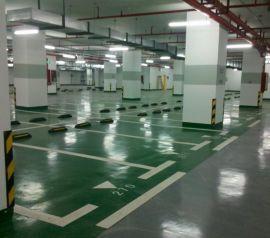 惠州地下车库划线,停车位划线
