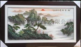 正方形陶瓷挂画批发 瓷板画