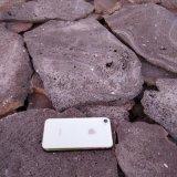 本格供應紅火山岩切片 加工定製 火山石板 板材