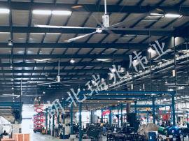 瑞泰风大型工业吊扇的作用原理是什么?