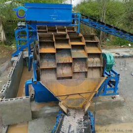 小型水车式洗砂机报价 高效轮斗洗山砂洗砂机