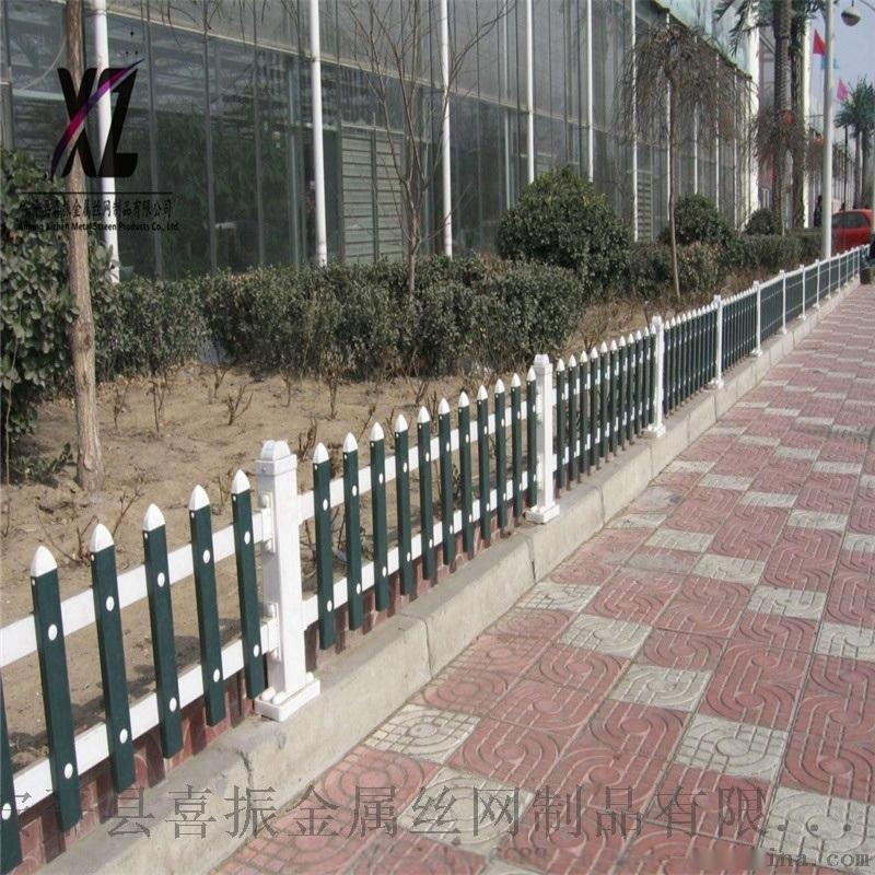 定制草坪护栏、pvc塑钢草坪栅栏、现货草坪护栏