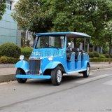 12座豪華電動老爺車 看房車 觀光電瓶車 藍色
