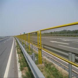 河北赛喆丝网热镀锌浸塑草绿色89公分高公路防眩网