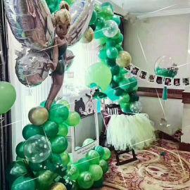 昆明花語花香氣球求婚告白婚房布置婚禮布置