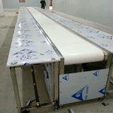 定製食品廠白色皮帶輸送線、小型平面流水線、按需定製