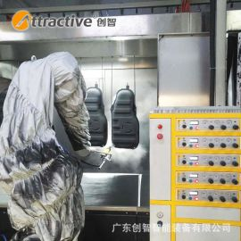 【广东创智】工业磷化线 机械臂喷漆设备 汽车喷淋房