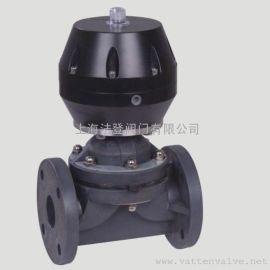 德国VATTENVTJZF-10\16上海生产厂家中德合资  碳钢 不锈钢 气动塑料隔膜阀