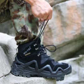 MilTec防水登山鞋 輕便徒步鞋 戶外透氣沙漠靴