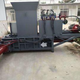 顺阳SY-750 青贮饲料压块机 自造青储压块机 小型家用玉米秸秆打包