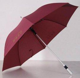 中山郎天雨伞厂供应27寸铝合金高尔夫晴雨伞直杆广告伞