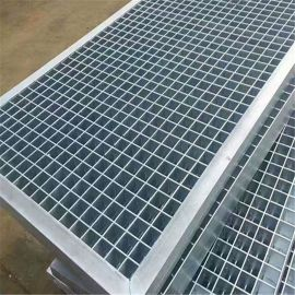 格栅板生产厂家 热镀锌格栅板 热镀锌格栅板踏步板