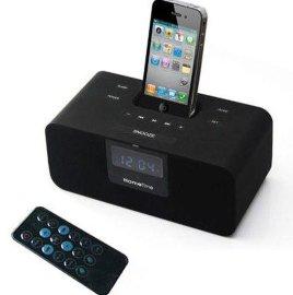 iphone手机底座充电音箱,酒店客房闹钟音箱
