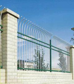 单(双)向弯头锌钢护栏铝合金防攀爬栅栏工艺护栏,可定做