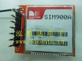 GSM 短信 GPRS 通讯 自弹卡槽 SIM900 模块 全网**体积2.5X3cm