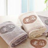 2条装定制订做LOGO礼品毛巾套装赠品毛巾盒装