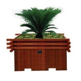 供应衡水昌顺户外花盆木质花箱品种齐全