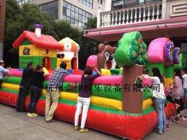 杭州48平方充气城堡淘气堡25平方淘气堡租赁