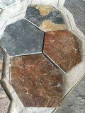 恆瑞石材供應鏽板   鏽石    黃鏽板岩