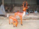 玻璃鋼仿真    樹脂動物工藝品 海南房地產雕塑擺設定做廠家