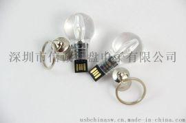 创意U盘定制 灯泡U盘 电灯泡USB 发光 礼品u盘制造商