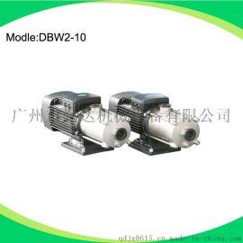 广东厂家直销不锈钢多级管道泵DBW2-9,净化水处理