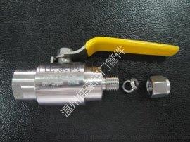 廠價直銷QGQY1-64P不銹鋼內絲氣源球閥,卡套式氣源球閥,G1/2-6,G1/2-8,G1/2-14