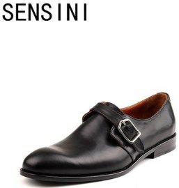 sensini手工商务正装皮鞋