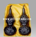 黑陶小葫蘆瓶