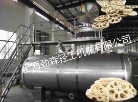 上海劲森专注休闲食品研发生产低温油浴设备