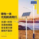 扬州弘旭照明公司生产LED小金豆锂电池太阳能路灯户外定制