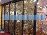 酒店铝板雕刻屏风-酒店铝合金铝屏风装饰