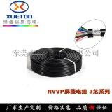 厂家直销rvvp屏蔽信号线2464镀锡铜电缆线