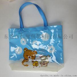PVC手提袋學生收納袋卡通塑膠袋源頭工廠