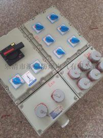 防爆检修插座箱带漏电保护开关