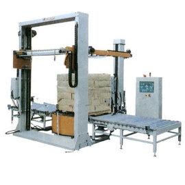 四会悬臂式裹膜机全自动拉伸薄膜捆扎机直销