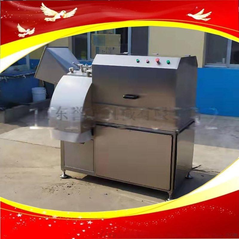 食品加工厂大型切丁机鸡肉鸭肉切丁机350型肉丁机