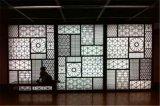 青島仿木紋門窗鋁窗花  舊式仿木紋隔斷鋁窗花