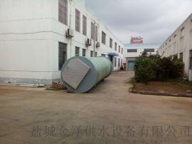 一体化污水提升泵站玻璃钢筒体材质金泽定制