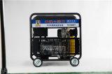 電啓動無刷7kw柴油發電機